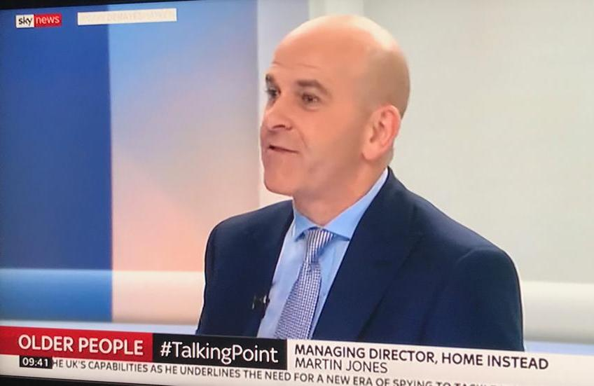 Photo of Martin Jones on Sky News