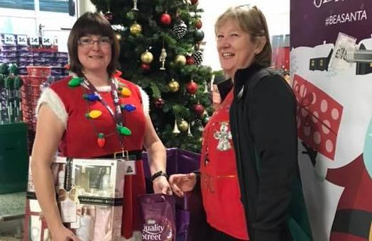 Home Instead at Morrisons Be a Santa to a Senior