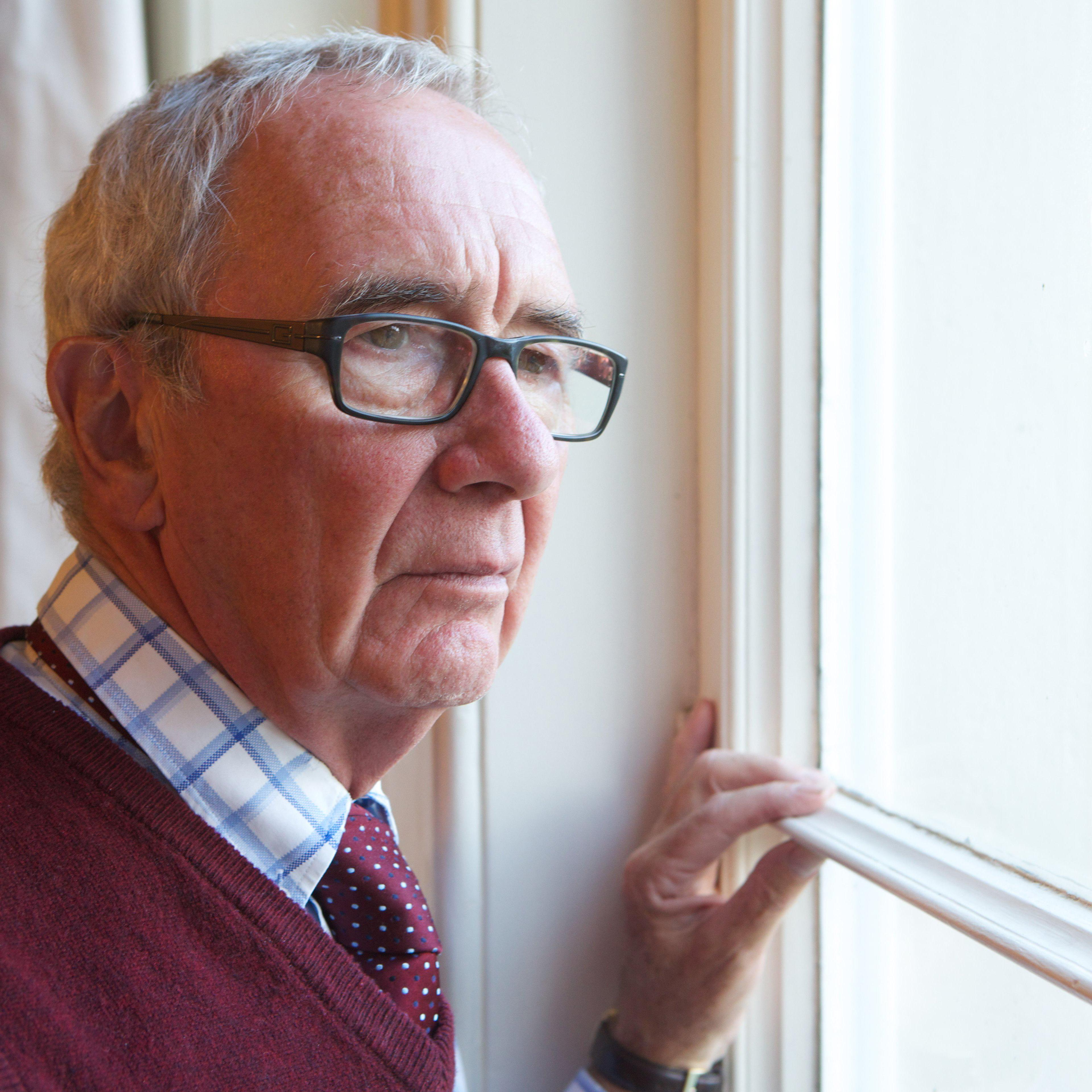 It can be lonely at Christmas for older people.