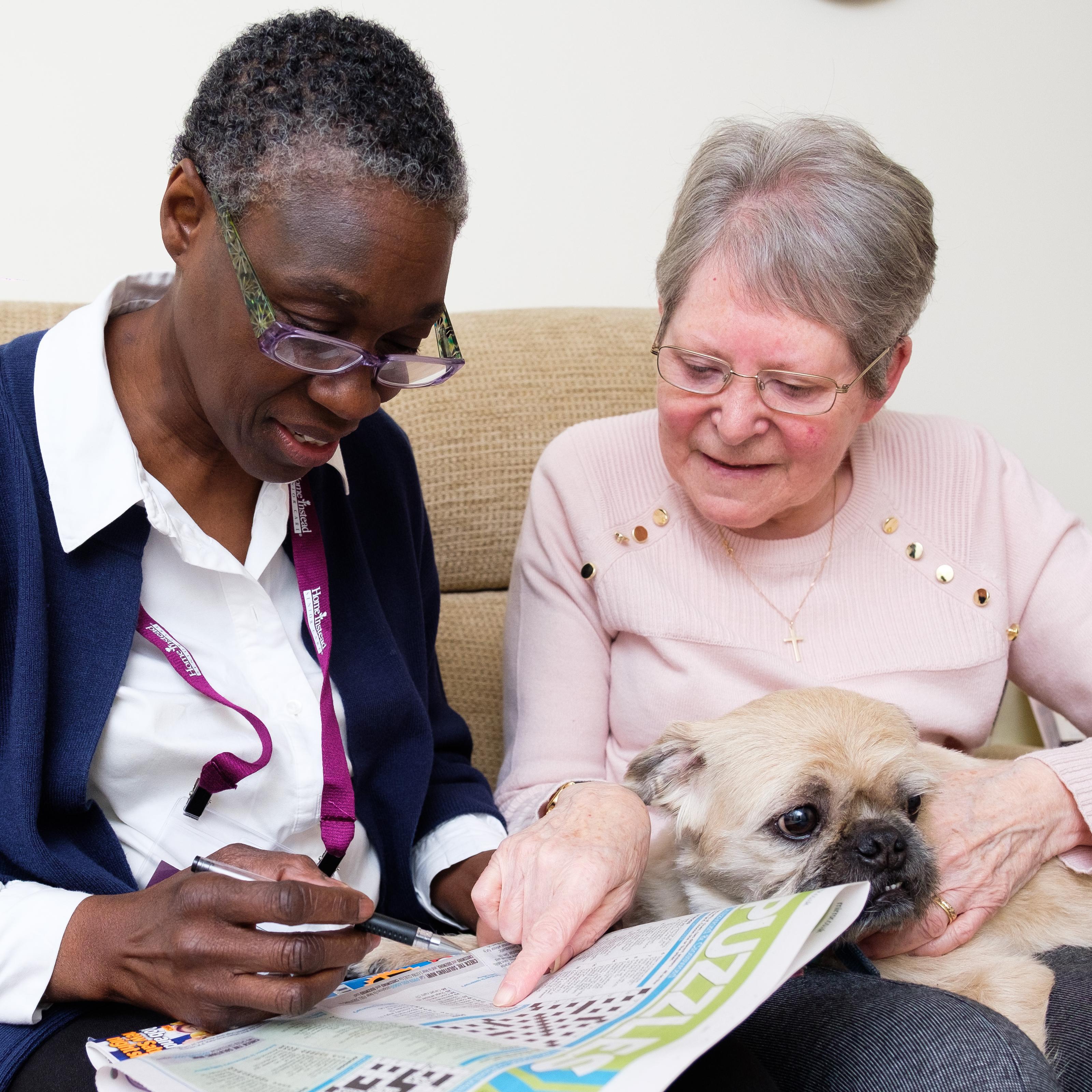 Home Instead Senior Care - CAREGiver & Client