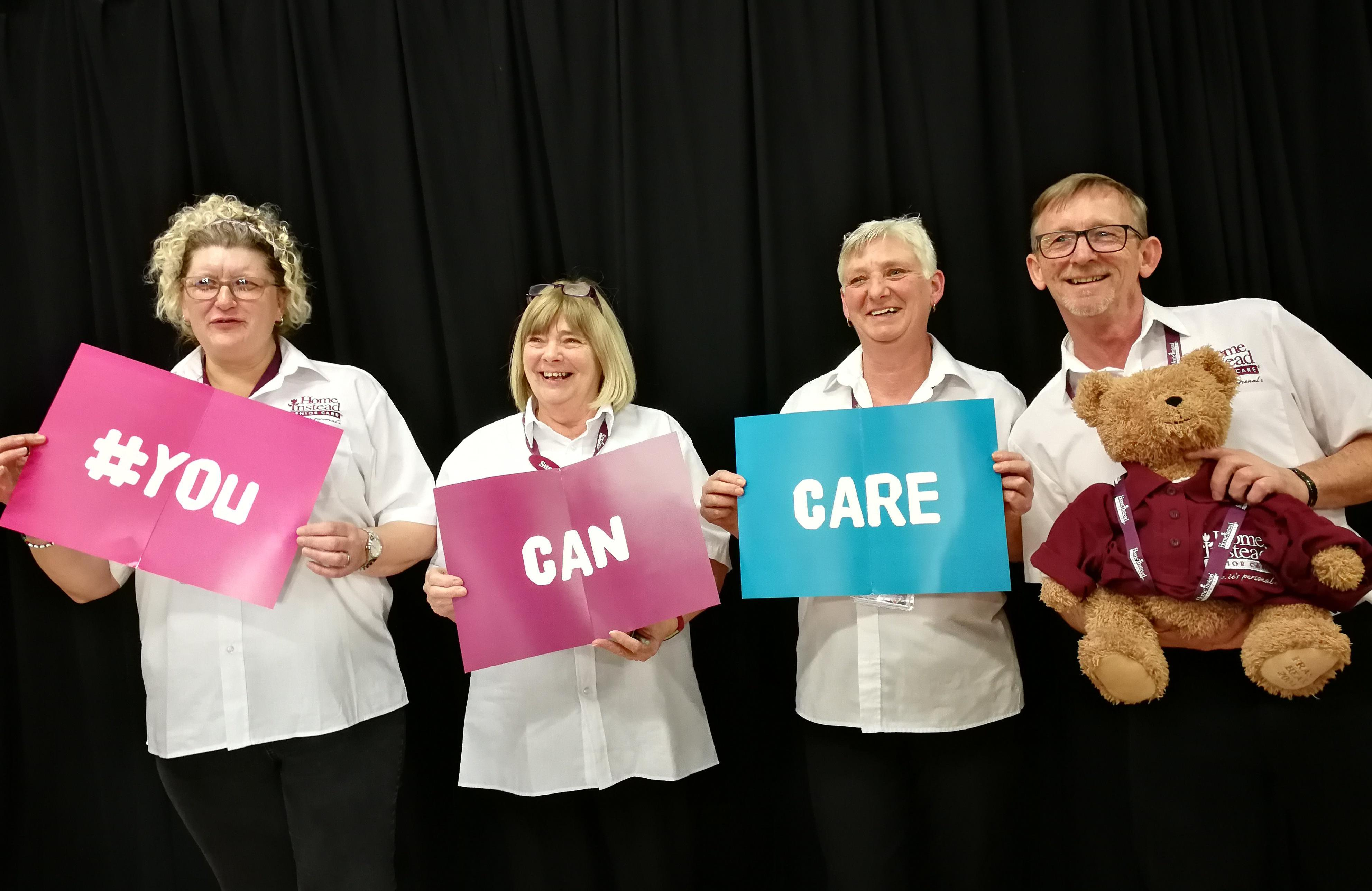 Join our team and discover that #YouCanCare with the best of us