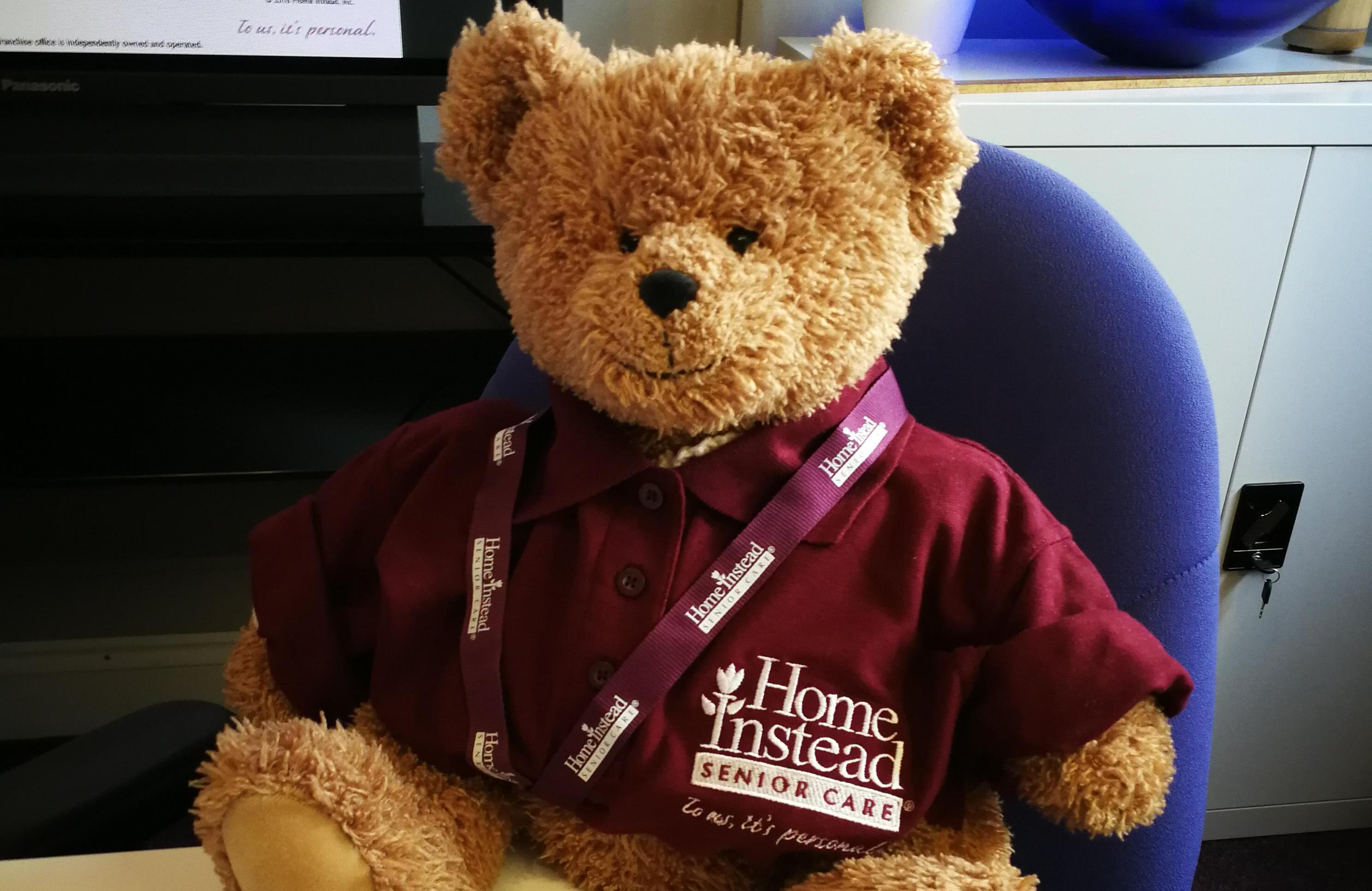 Fraser, the Home Instead Care Bear