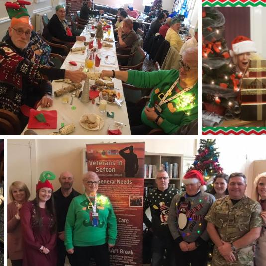 Christmas lunch and community activities