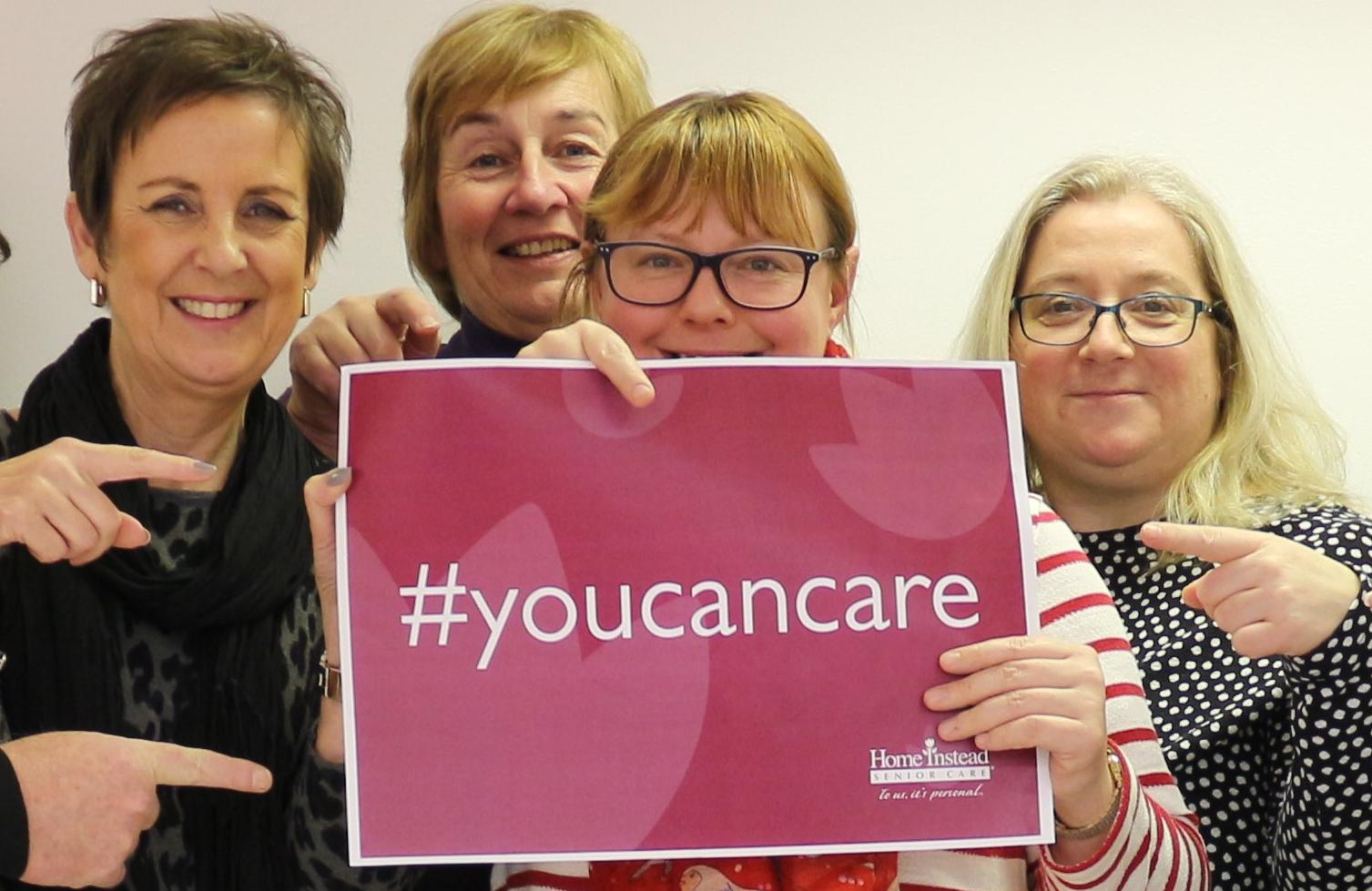 Care boss says 'You Can Care'