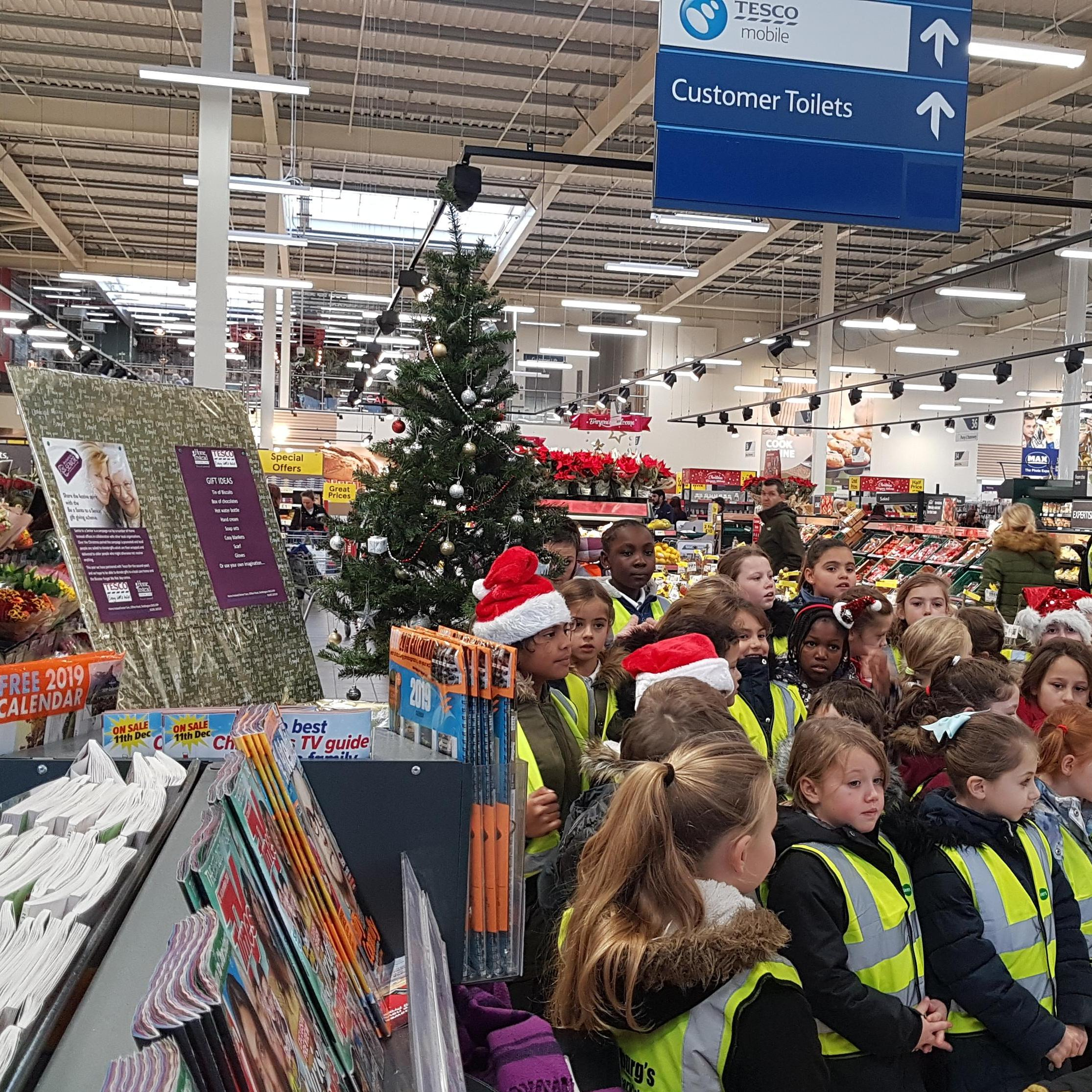 Launch of Home Instead North Oxfordshire Santa to a Senior campaign