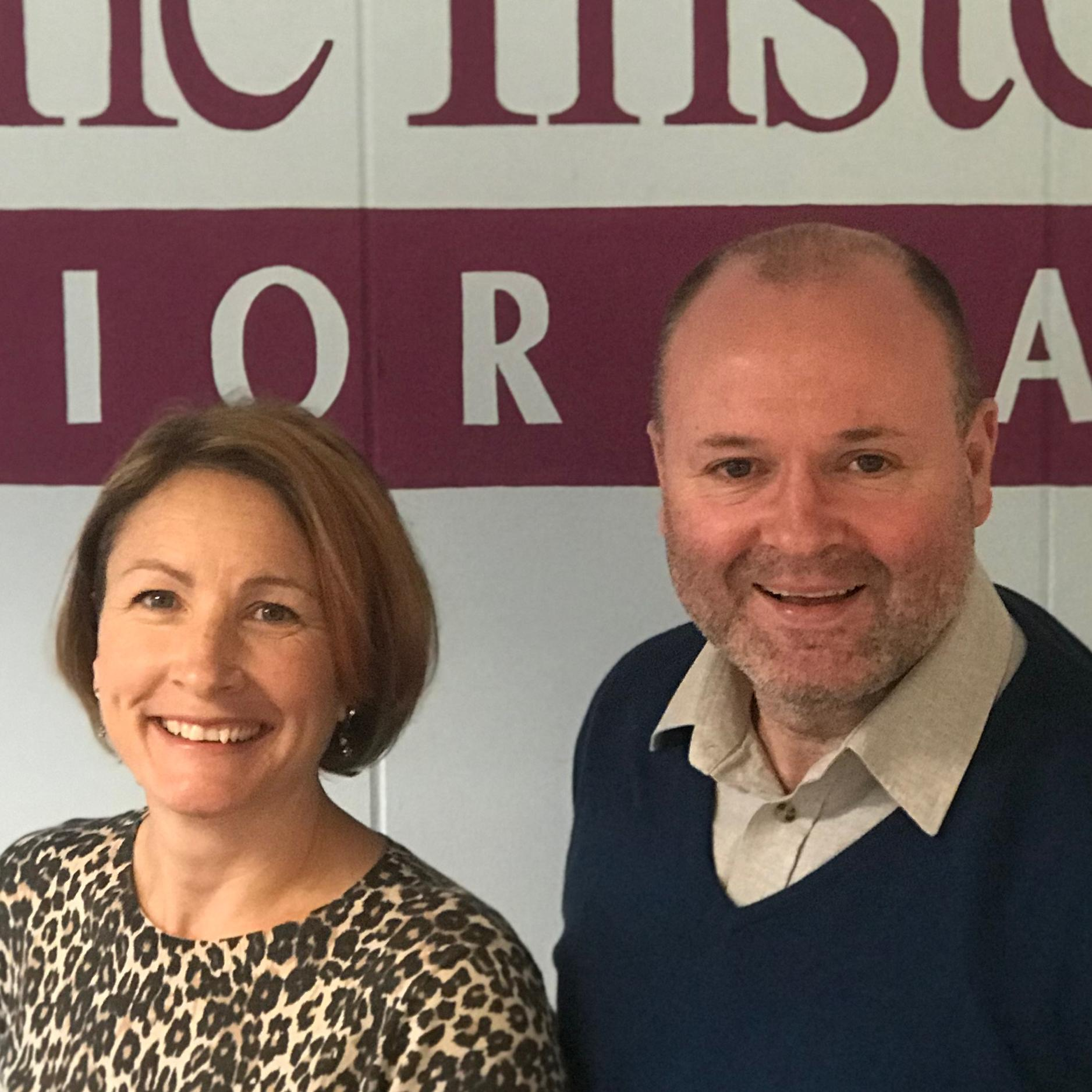 Lucy Gill, Alan Savage Owners of Home Instead Senior Care Altrincham, Sale and Wythenshawe