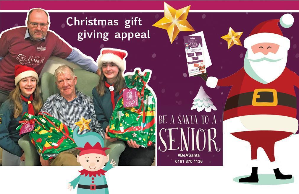 Be a Santa to a Senior 2018