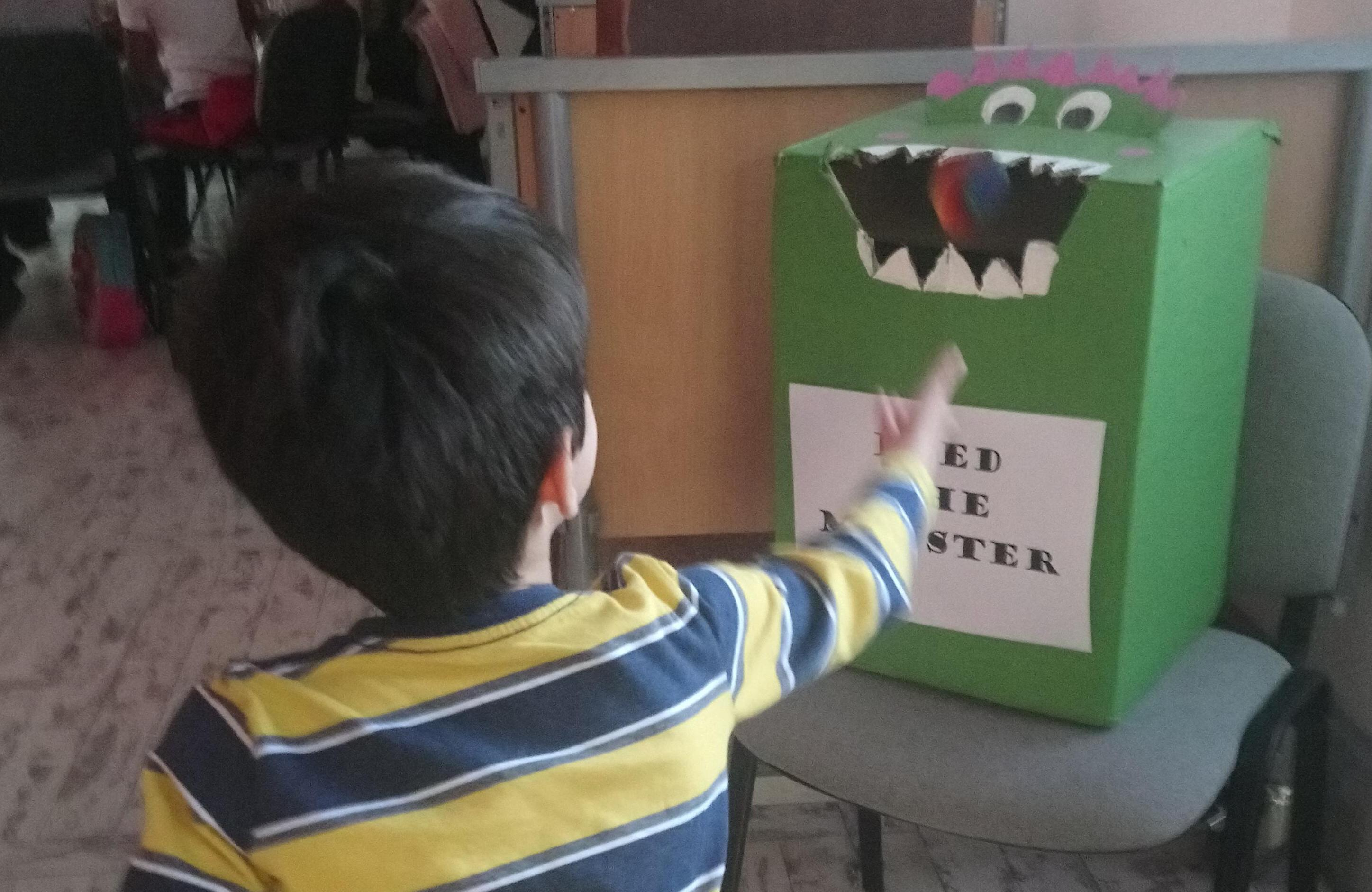 Playing Feed The Monster