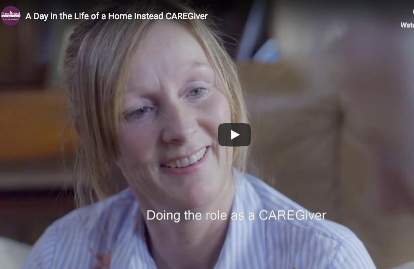 A Day in the Life of a Home Instead CAREGiver