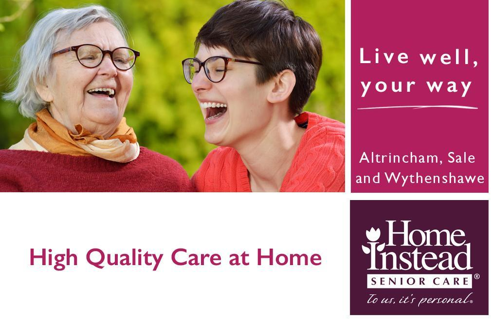 High Quality care at home, Live well your way.