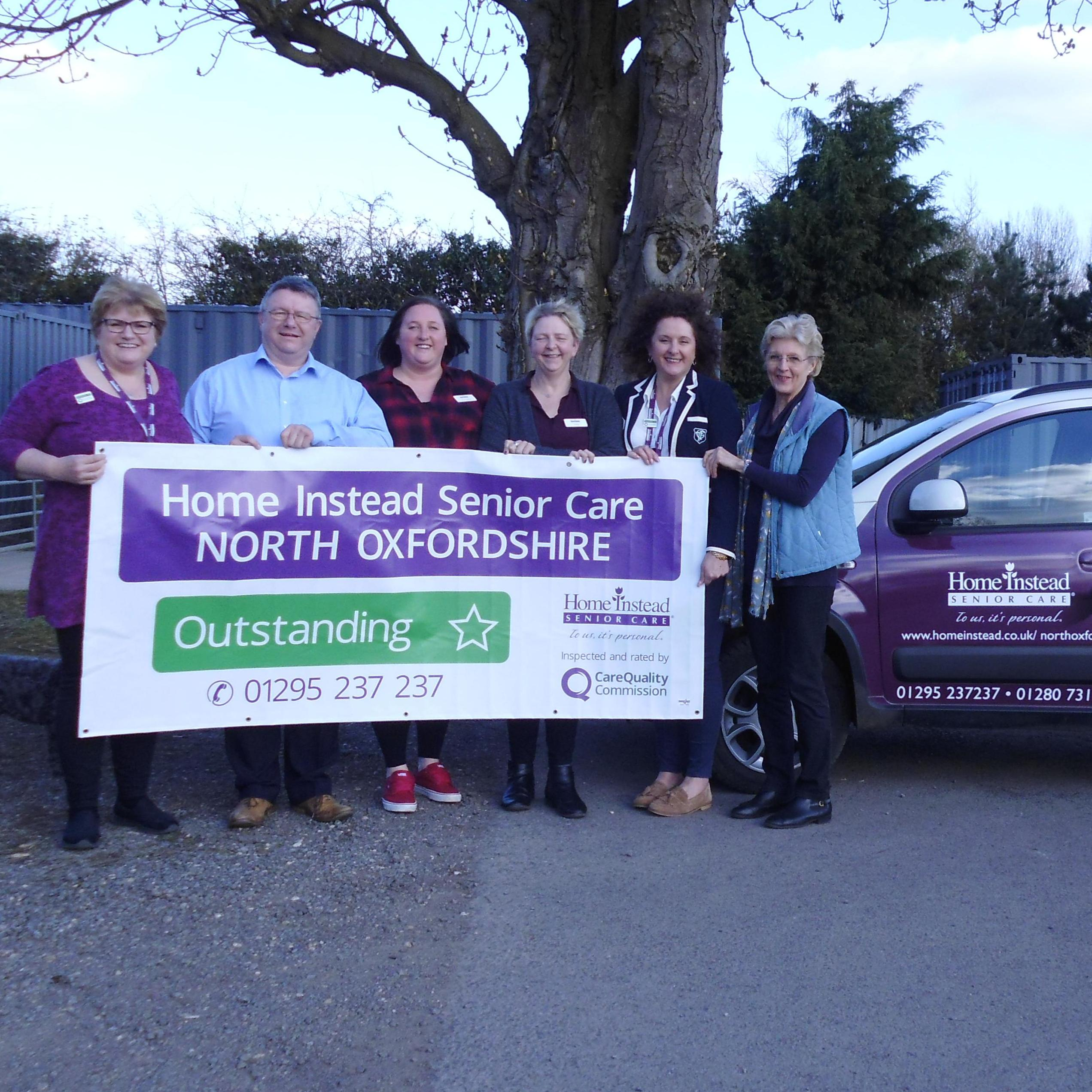 Home Instead North Oxfordshire achieve outstanding rating by CQC