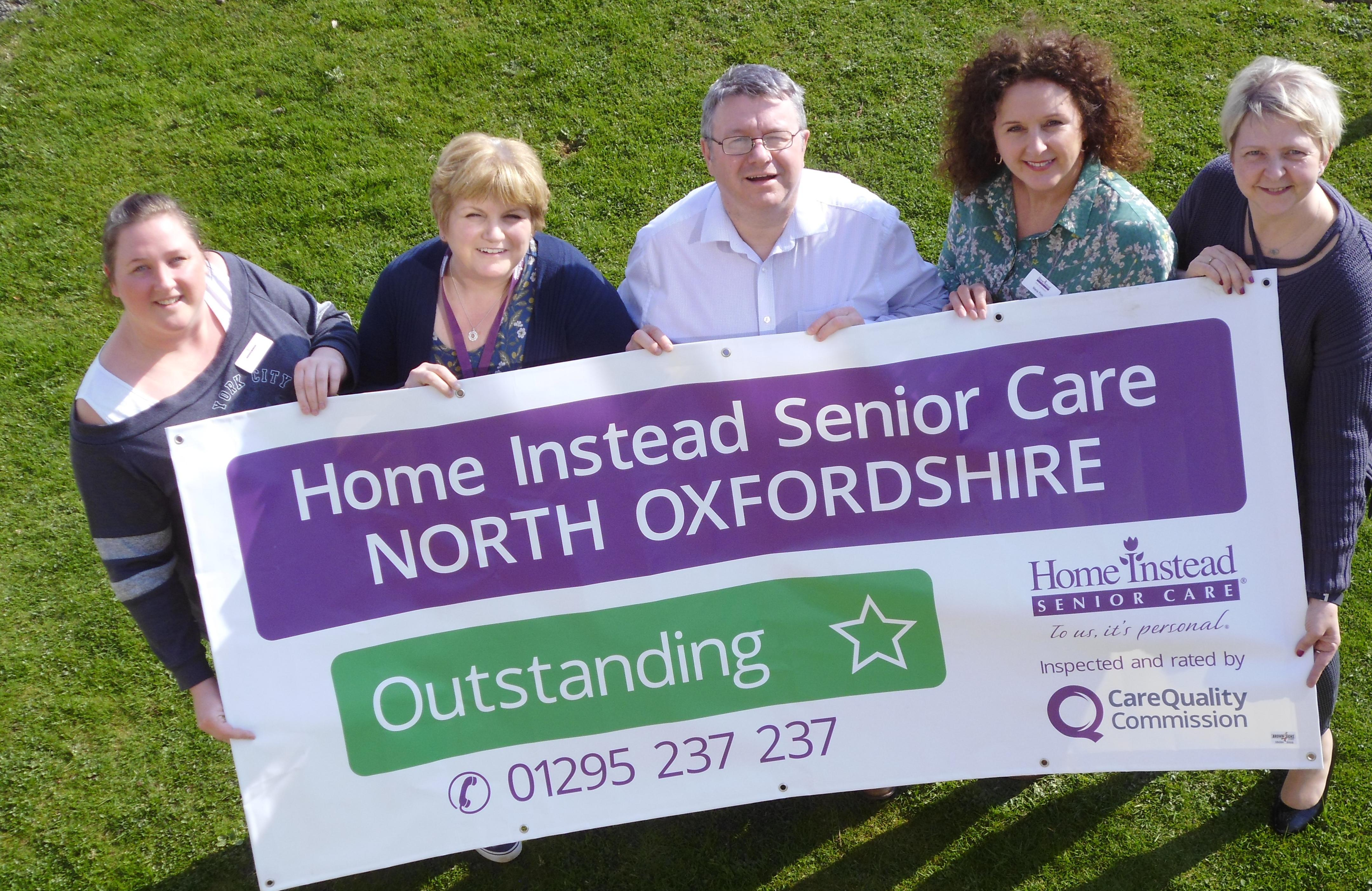 Photo of Home Instead North Oxfordshire team