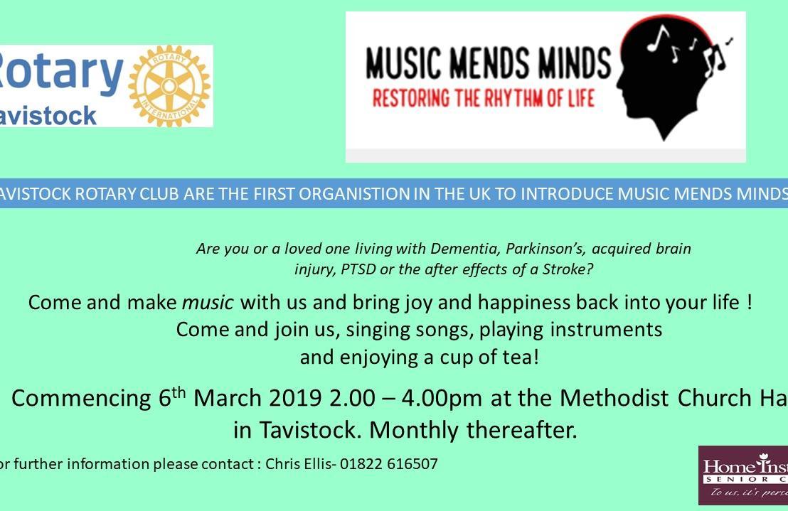 Music Mends Minds Tavistock