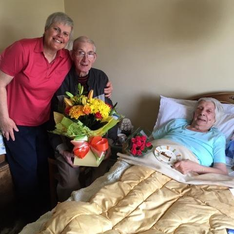 CAREGiver Helen with Mr and Mrs Miller
