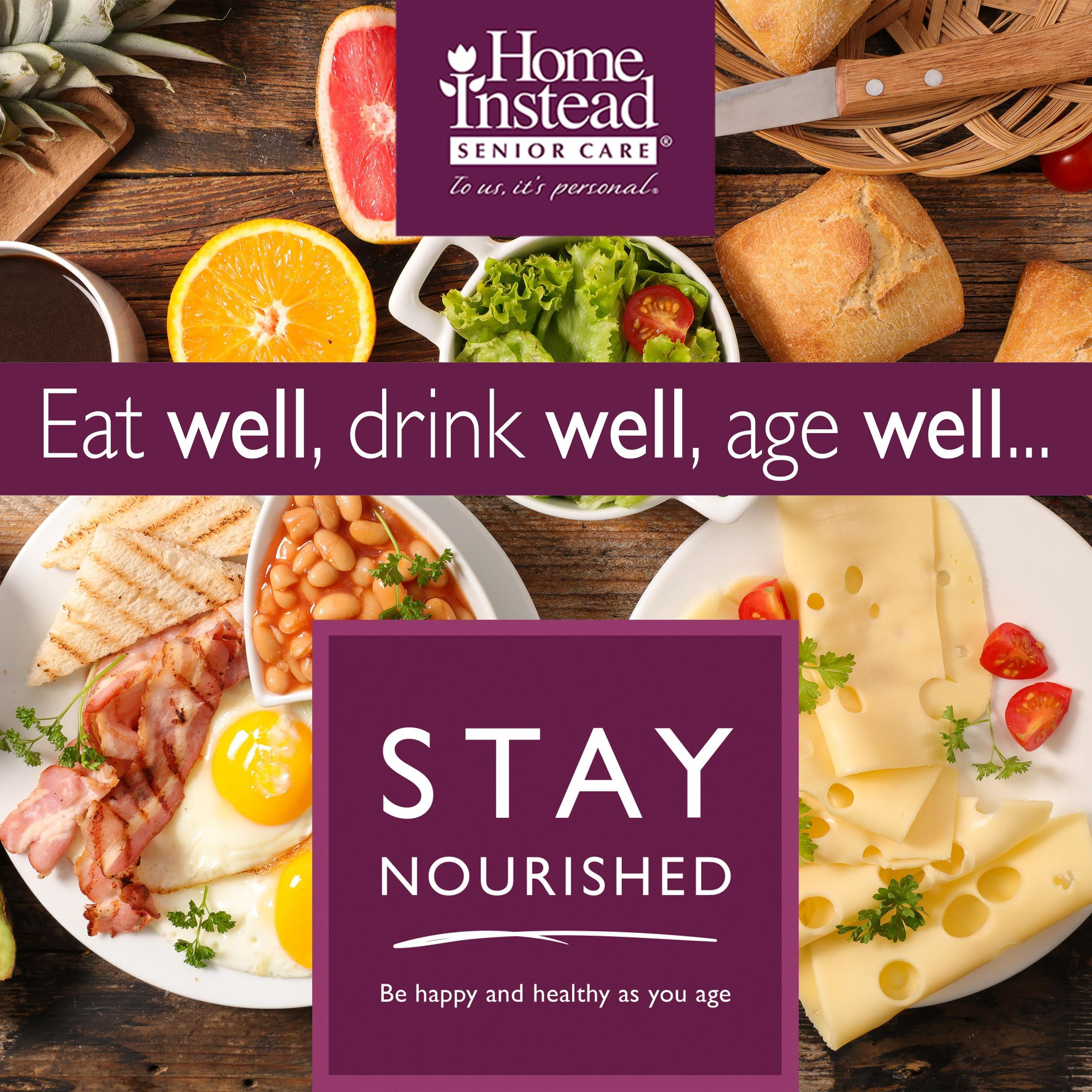 Stay Nourished Home Instead eat well
