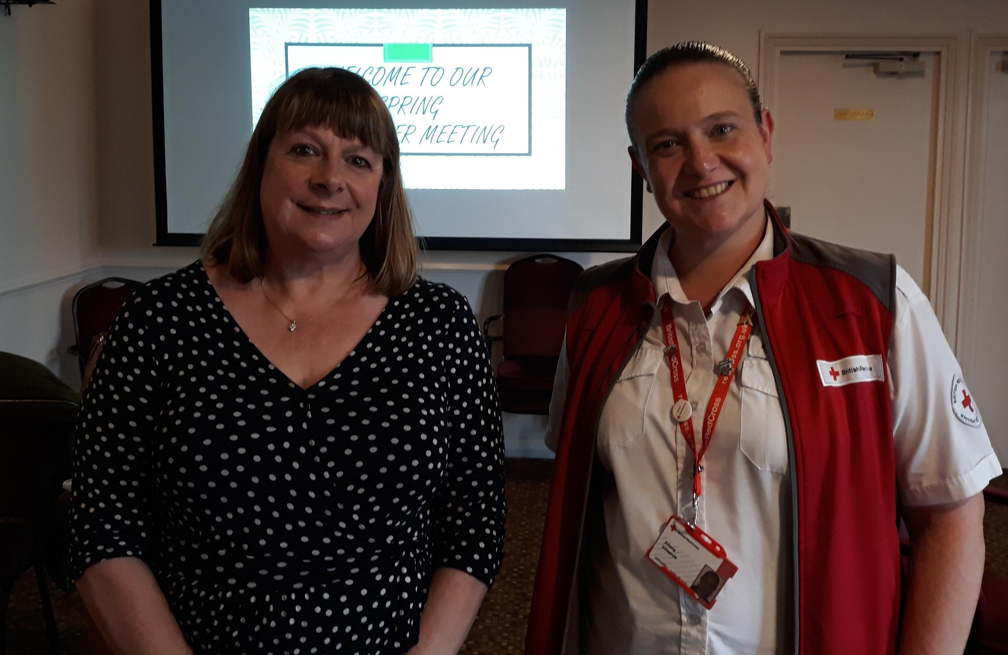 Sue Broadbent & Emma Edwards