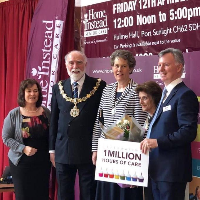 mayor Million hours of care home instead wirral