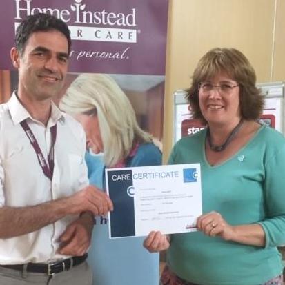 CAREGiver attaining Care Certificate