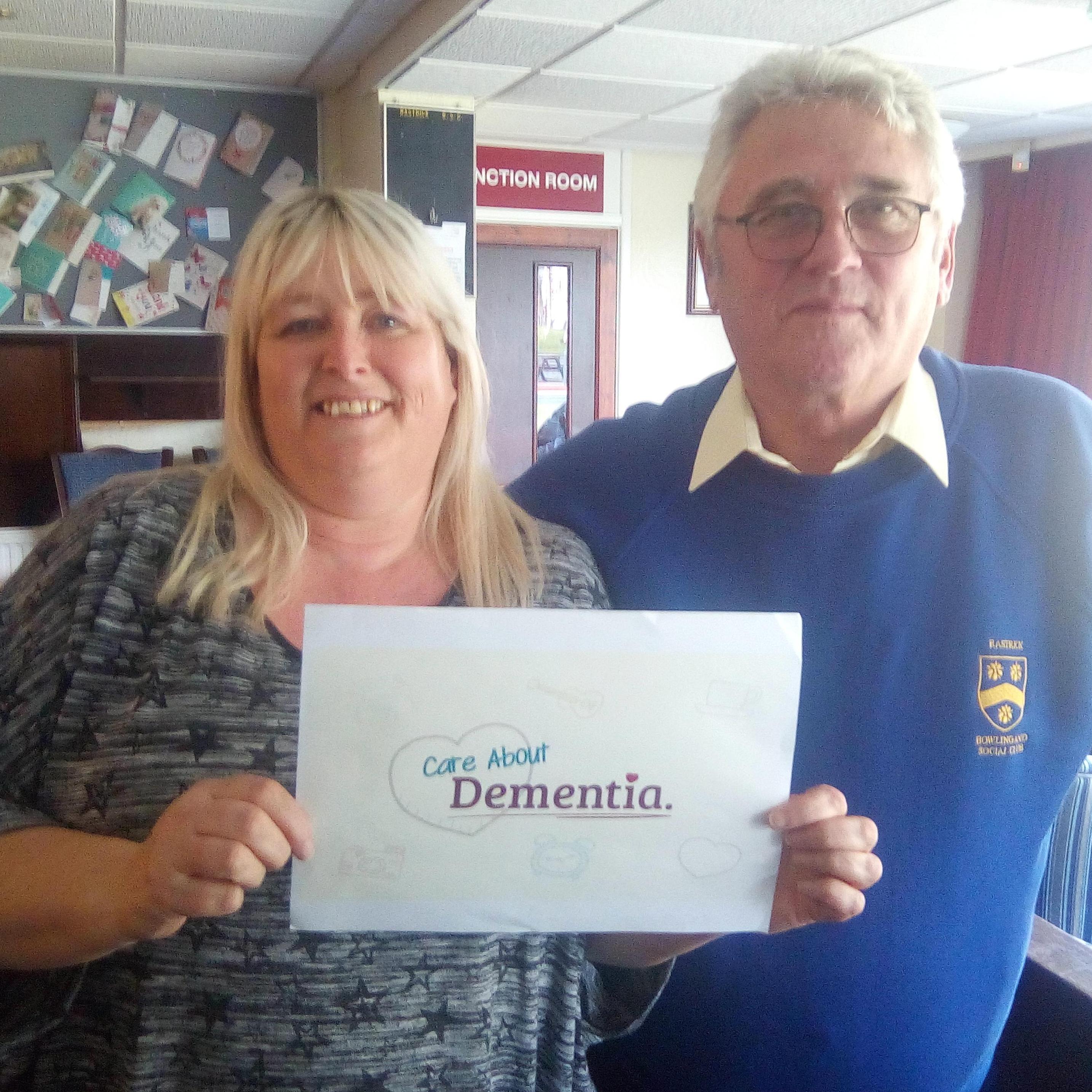 Dementia workshop Rastrick Bowling Club