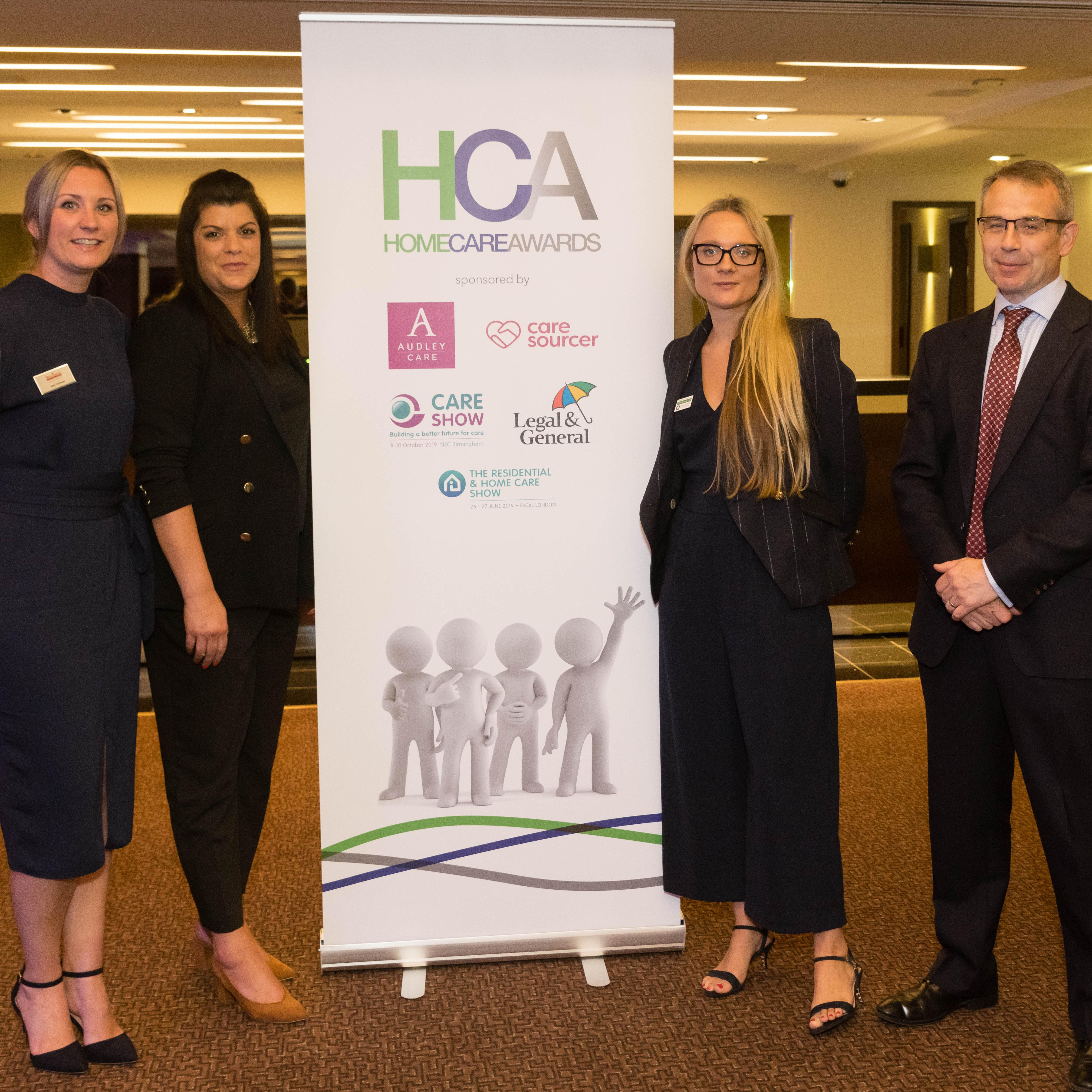 Photo of Home Instead Senior Care at Home Care Awards 2019