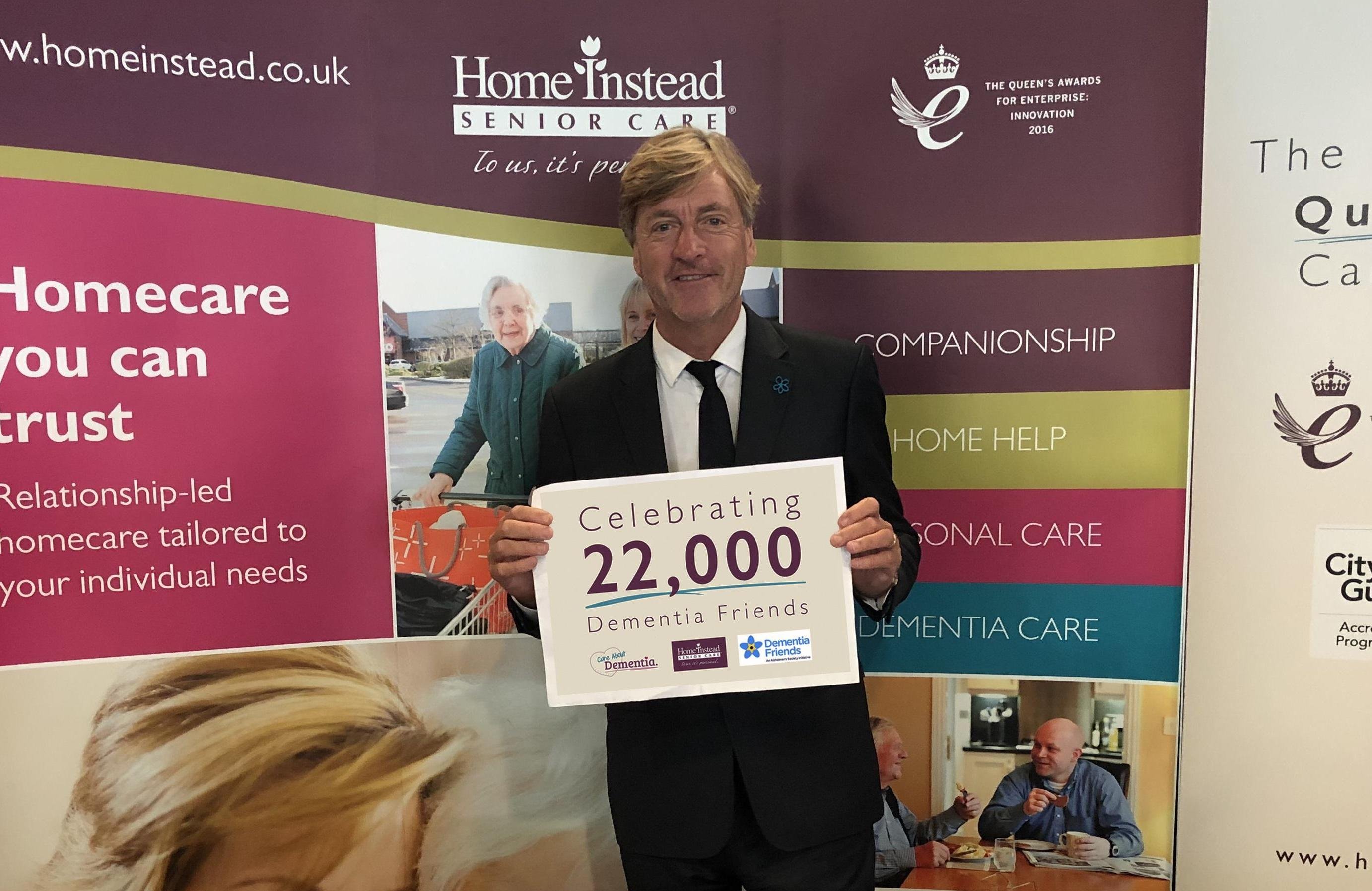 Richard Madeley with Dementia Campaign