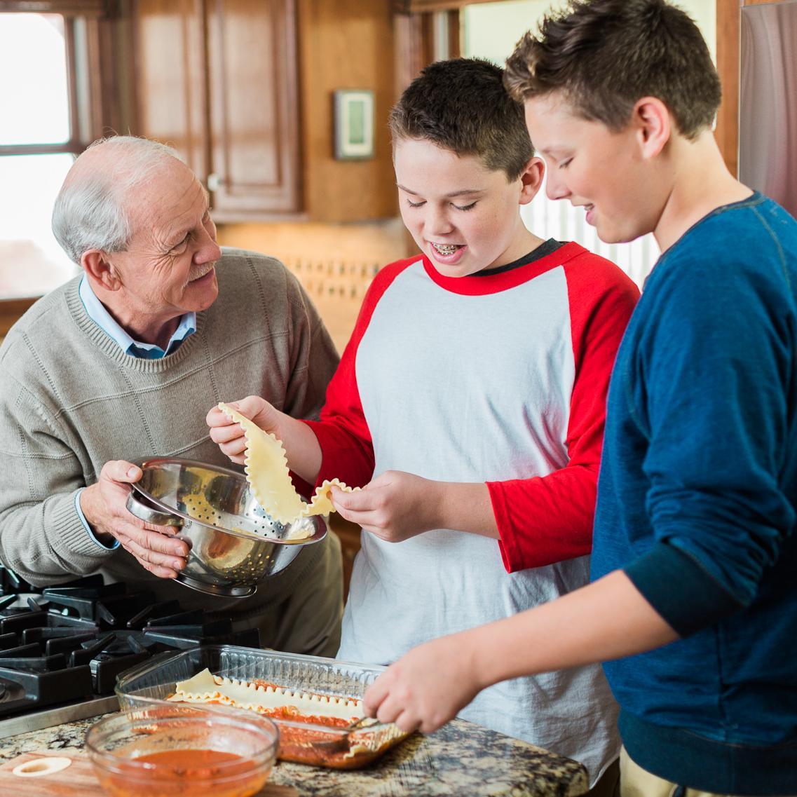 Client and Grandchildren