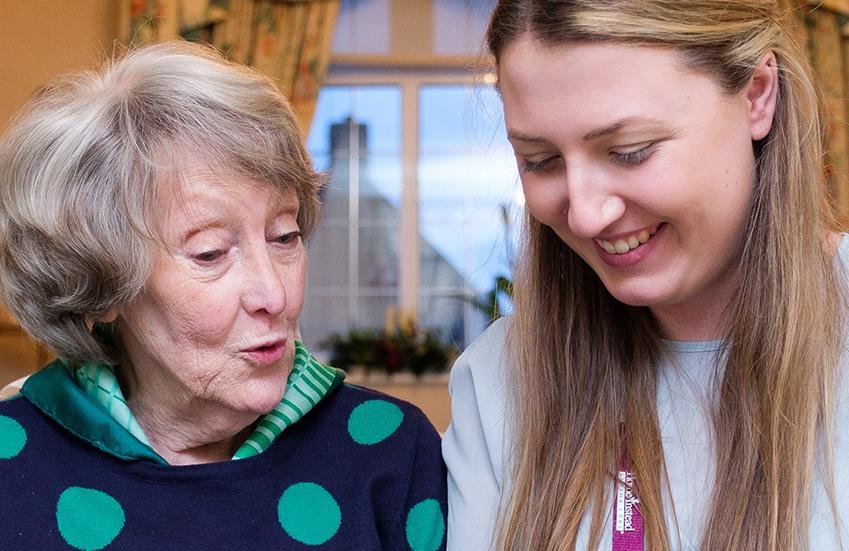 Client and CAREGiver who are well matched