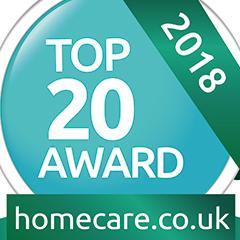 top 20 award homecare.co.uk
