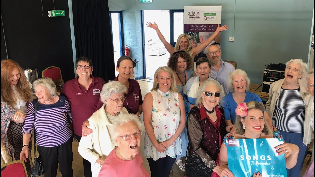 Dementia friendly event held in The Regis Centre, Bognor Regis