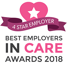 Home Instead Chichester is a 4 Star Employer in Care Winner!
